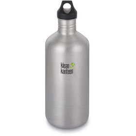 Klean Kanteen Classic Gourde Bouchon boucle 1900ml, brushed stainless
